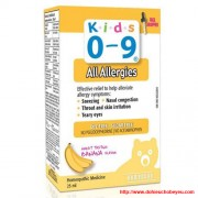 Kids 0-9 All Allergies
